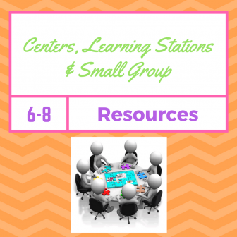 Centers, Learning Stations, & Small Group Resources