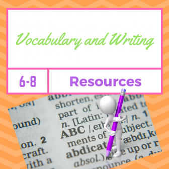 Vocabulary & Writing Resources